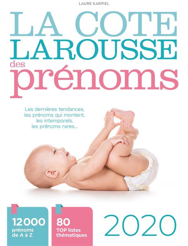 LA COTE LAROUSSE DES PRENOMS 2020  LAROUSSE