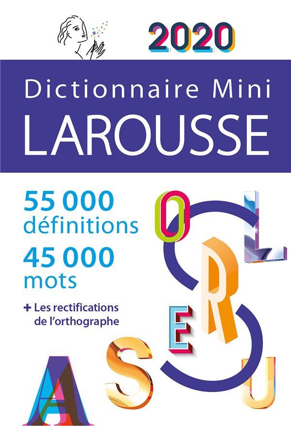DICTIONNAIRE LAROUSSE MINI (EDITION 2020)