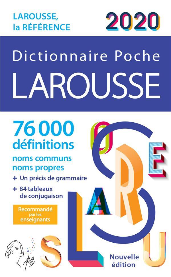 LAROUSSE DE POCHE 2020 COLLECTIF LAROUSSE