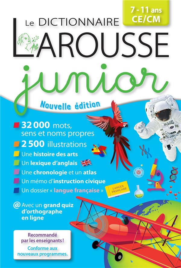 DICTIONNAIRE JUNIOR COLLECTIF LAROUSSE