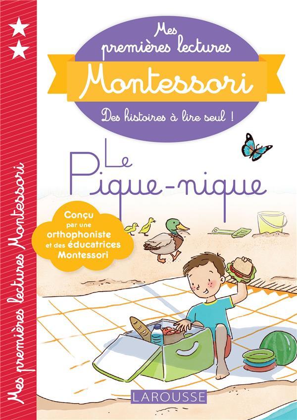 MES PREMIERES LECTURES MONTESSORI  -  LE PIQUE-NIQUE RINALDI/CLAVIER LAROUSSE