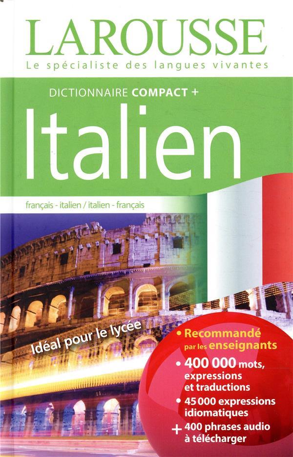 DICTIONNAIRE COMPACT +  -  FRANCAIS - ITALIEN