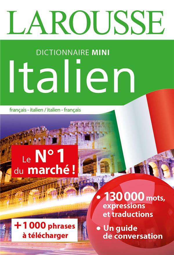 DICTIONNAIRE MINI ITALIEN XXX LAROUSSE