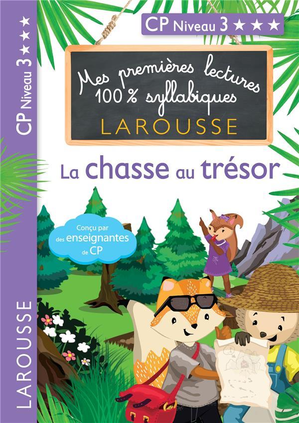 MES PREMIERES LECTURES 100% SYLLABIQUES  -  L'ILE AU TRESOR HEFFNER/LEVALLOIS LAROUSSE
