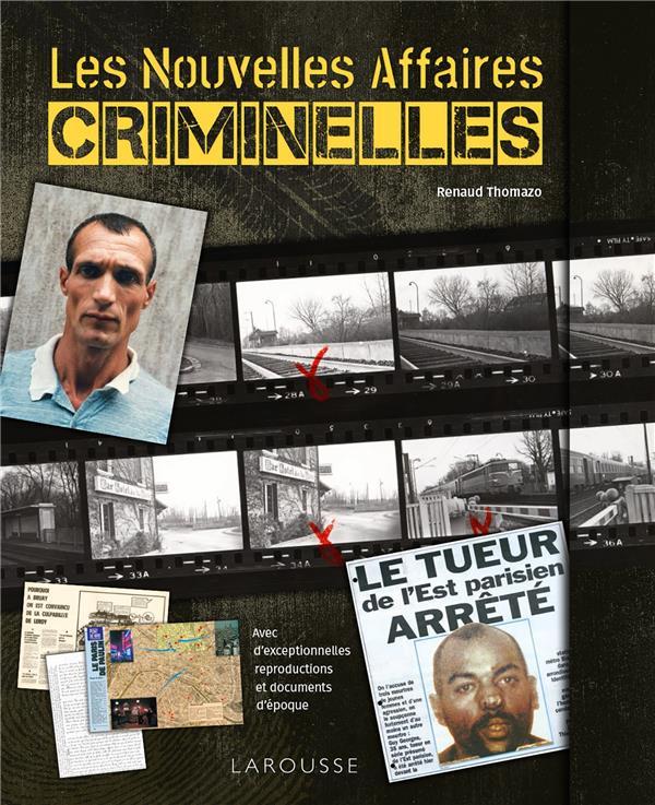 LES NOUVELLES AFFAIRES CRIMINELLES  LAROUSSE