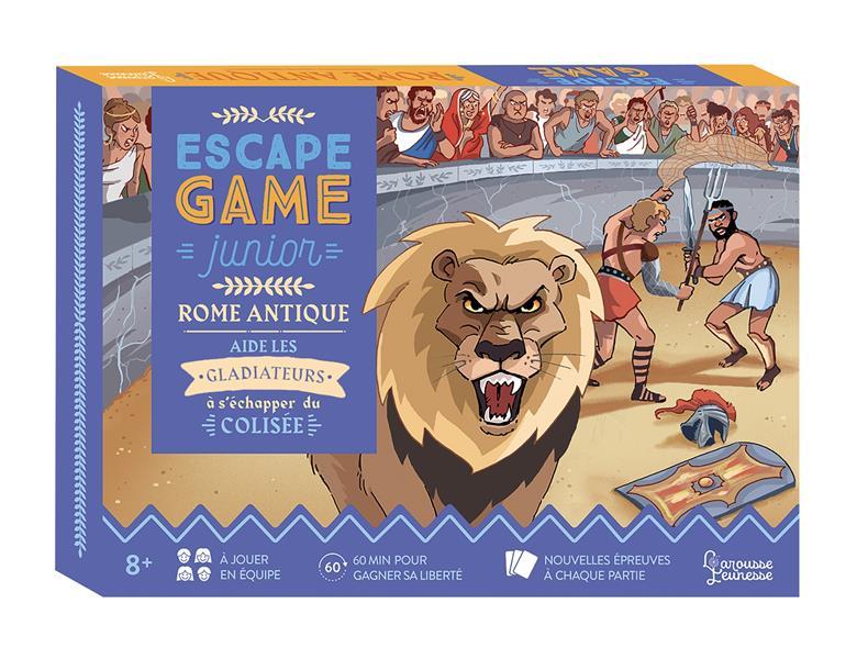 ESCAPE GAME JUNIOR - ROME ANTIQUE LEBRUN/AUDRAIN/VIDAL NC
