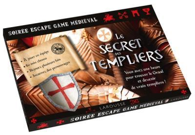 SOIREE ESCAPE GAME MEDIEVAL  -  LE SECRET DES TEMPLIERS VENTIN LUIS NC