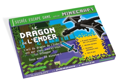 SOIREE ESCAPE GAME SPECIAL MINECRAFT  -  LE DRAGON DE L'ENDER XXX NC
