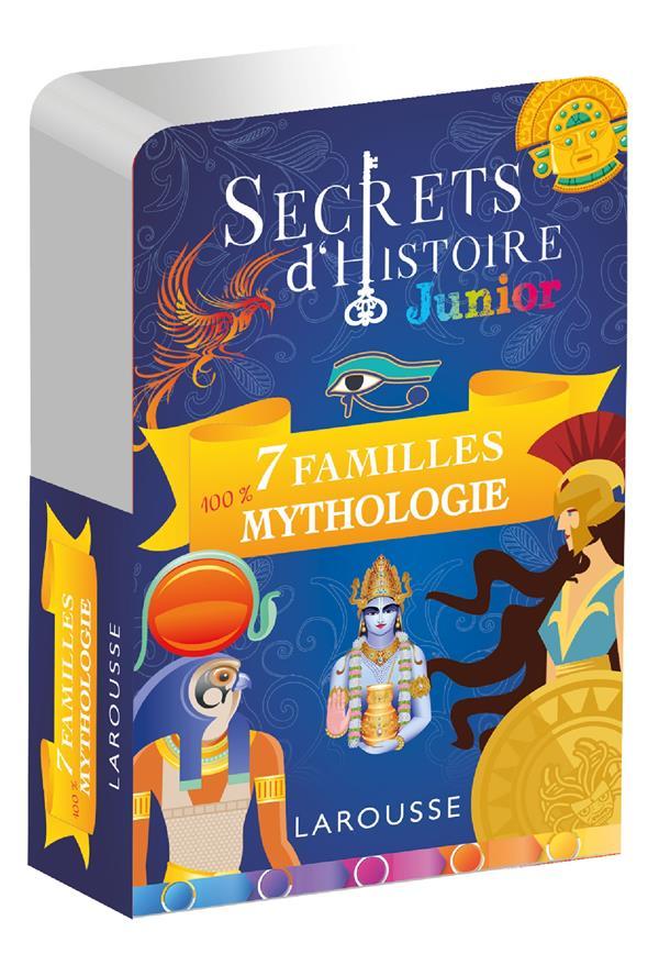 SECRETS D'HISTOIRE JUNIOR  -  JEU DE 7 FAMILLES MYTHOLOGIE XXX NC