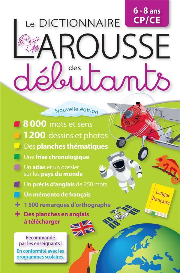 LE DICTIONNAIRE LAROUSSE DES DEBUTANTS XXX LAROUSSE