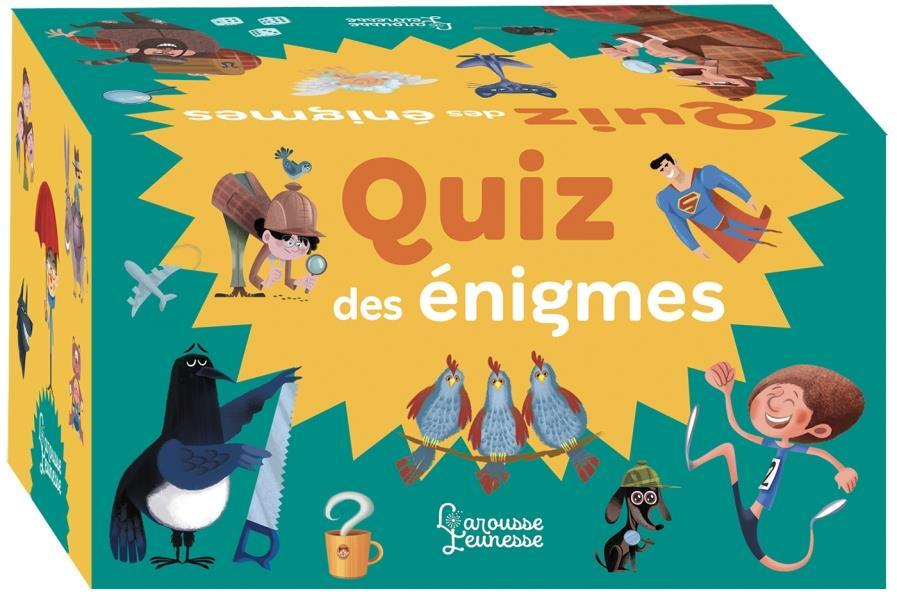 QUIZ DES ENIGMES DE HUGO/GUERLAIS LAROUSSE