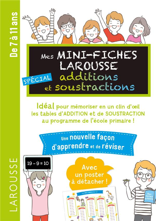 MINI FICHES SPECIAL ADDITIONS ET SOUSTRACTIONS ADDITIONS COLLECTIF LAROUSSE
