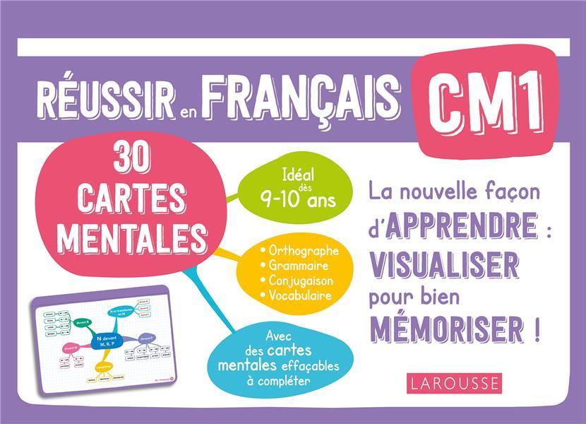 CARTES MENTALES FRANCAIS CM1 JAMBON CAROLINE LAROUSSE