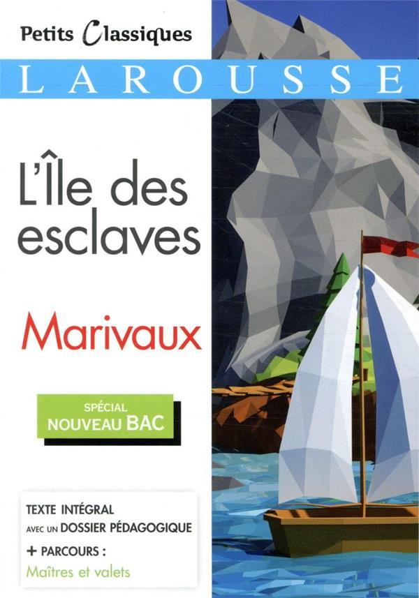 L'ILE DES ESCLAVES  -  MAITRES ET VALETS MARIVAUX NC