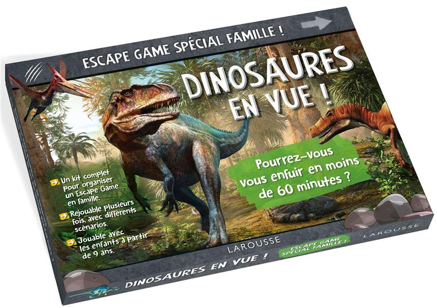 ESCAPE GAME SPECIAL FAMILLE  -  DINOSAURES EN VUE ! COLLECTIF NC