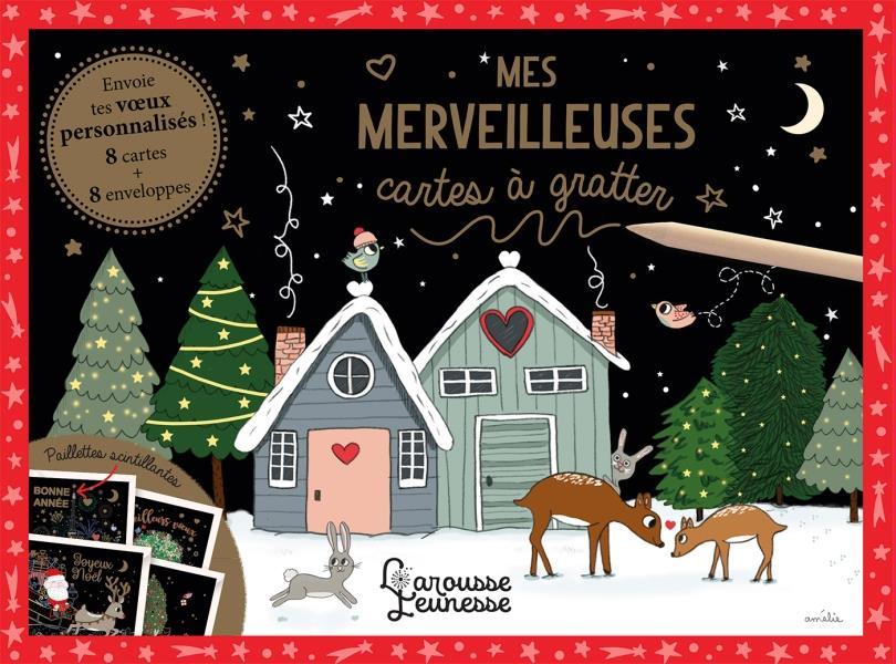 MES MERVEILLEUSES CARTES A GRATTER LAFFAITEUR AMELIE NC