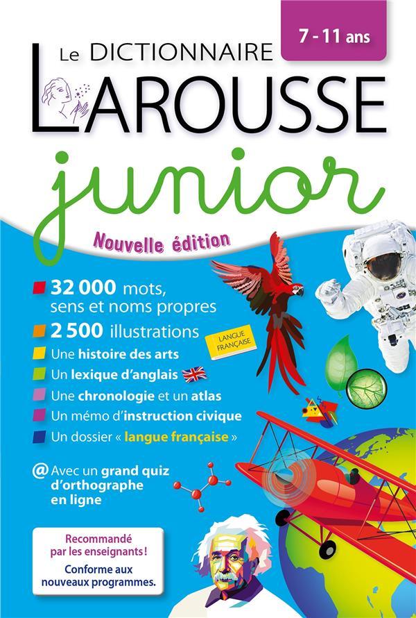 LE DICTIONNAIRE LAROUSSE JUNIOR XXX LAROUSSE