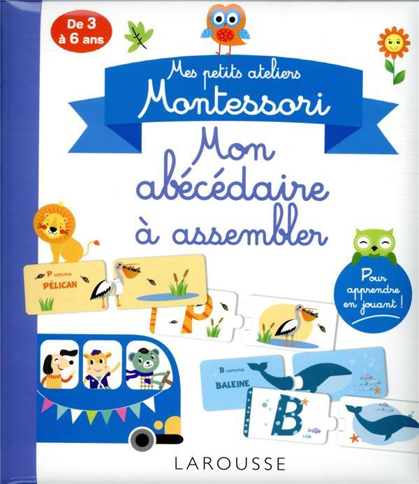 MES PETITS ATELIERS MONTESSORI  -  MON ABECEDAIRE A ASSEMBLER COLLECTIF NC
