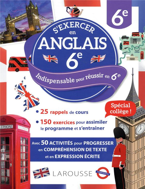 S'EXERCER EN ANGLAIS  -  6E COLLECTIF LAROUSSE