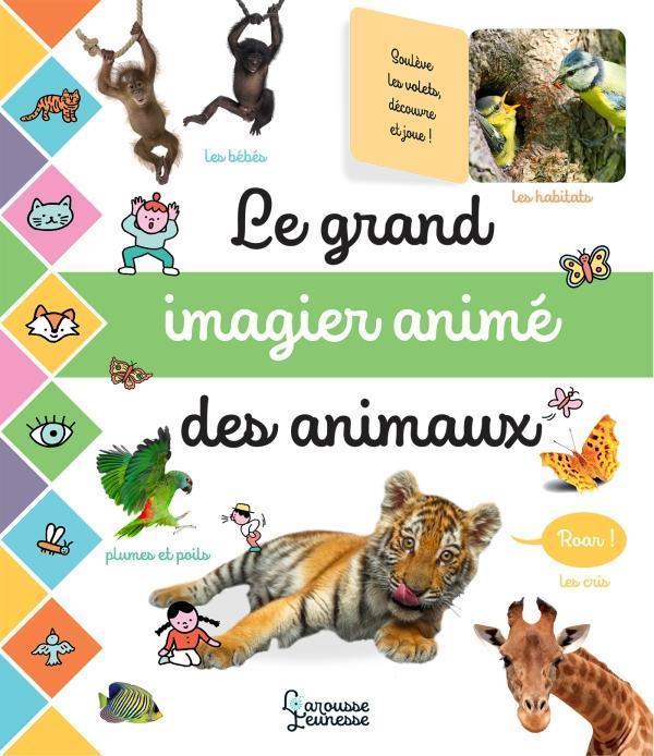 LE GRAND IMAGIER ANIME DES ANIMAUX COGUMELO CLUB LAROUSSE