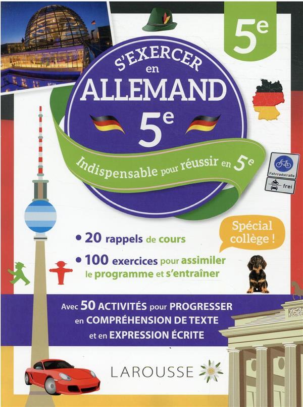 S'EXERCER EN ALLEMAND  -  5E COLLECTIF LAROUSSE