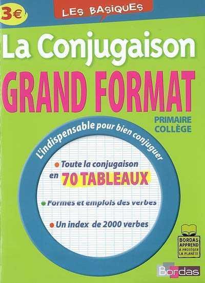 BASIQUES - CONJUGAISON GD FORM GRANDCOIN-JOLY G. BORDAS