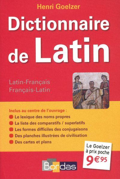DICTIONNAIRE DE LATIN COLLECTIF BORDAS