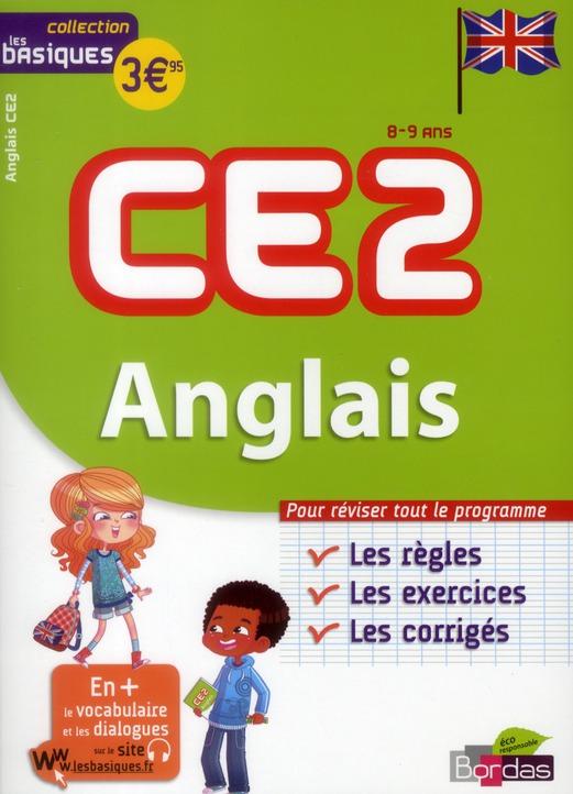 BASIQUES ANGLAIS CE2 8-9 ANS CYPRIEN/GANDILHON BORDAS