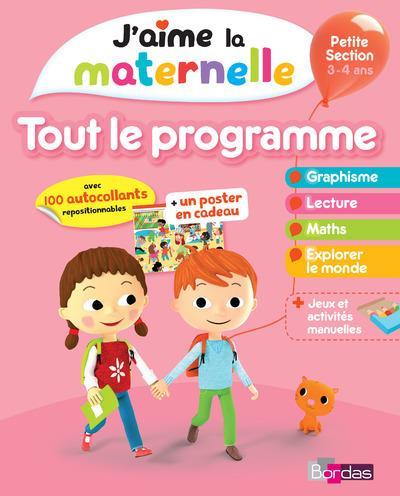 J Aime La Maternelle Tout Le Programme Petite Section Librairie Martelle