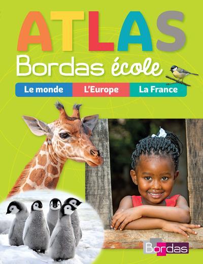 ATLAS  -  LE MONDE, L'EUROPE, LA FRANCE (EDITION 2018) MOUTON-BARRERE BORDAS