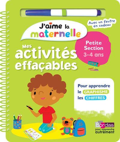 Mes Activites Effacables Petite Section Jaime La Maternelle 3 4