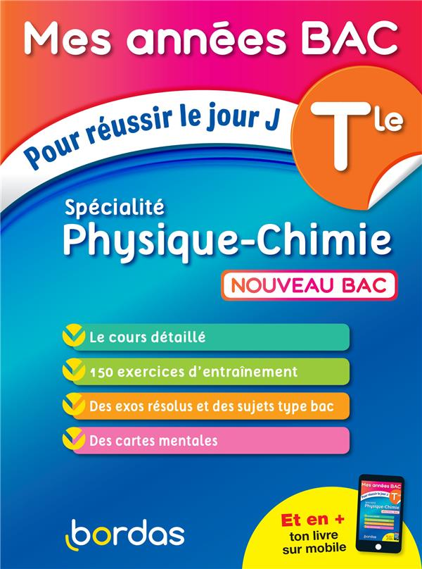SPECIALITE PHYSIQUE-CHIMIE  -  TERMINALE (EDITION 2020)  DUBUS, DAVID BORDAS