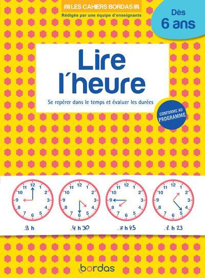 LIRE L'HEURE  -  DES 6 ANS (EDITION 2020)