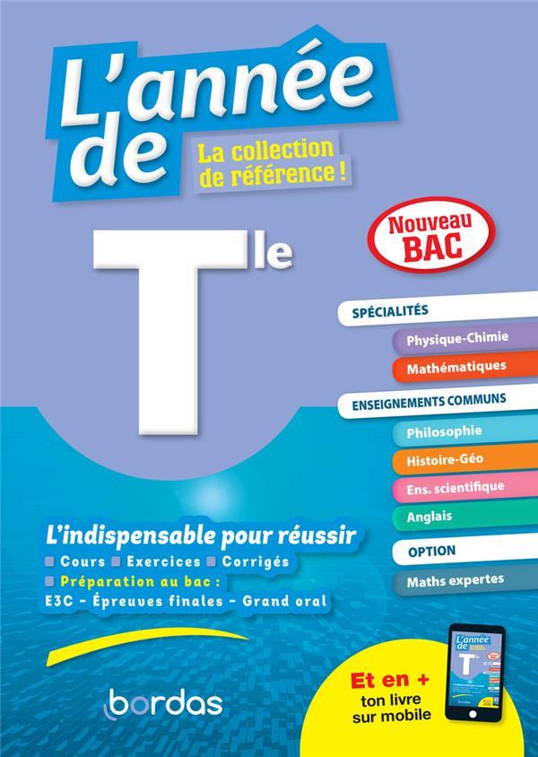 LES ANNEES DE  -  TOUTES LES MATIERES  -  TERMINALE (EDITION 2020) COLLECTIF BORDAS