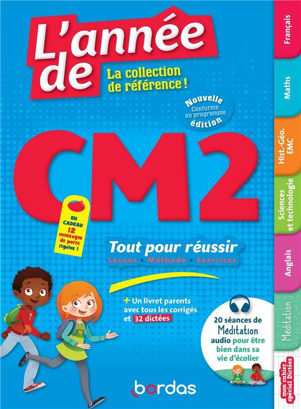 LES ANNEES DE  -  CM2  -  TOUT POUR REUSSIR (EDITION 2021) COLLECTIF BORDAS