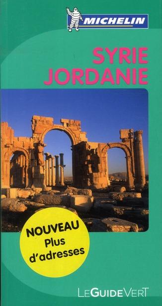 GUIDE VERT SYRIE JORDANIE XXX MICHELIN