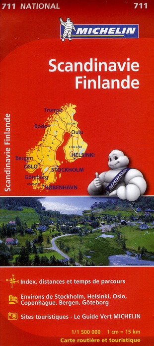 SCANDINAVIE, FINLANDE COLLECTIF MICHELIN MICHELIN