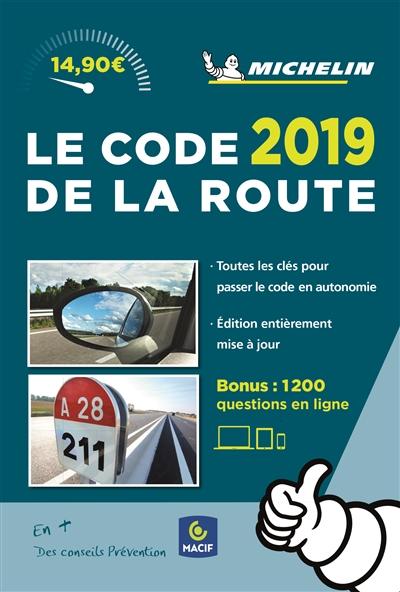 - CODE DE LA ROUTE MICHELIN 2019