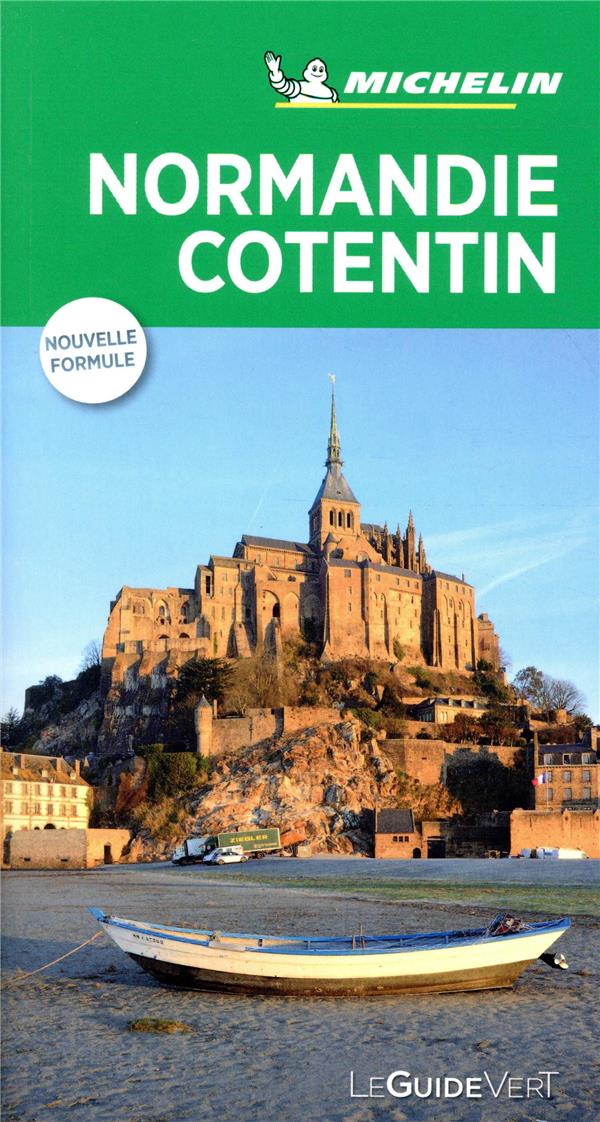 LE GUIDE VERT  -  NORMANDIE COTENTIN  MICHELIN