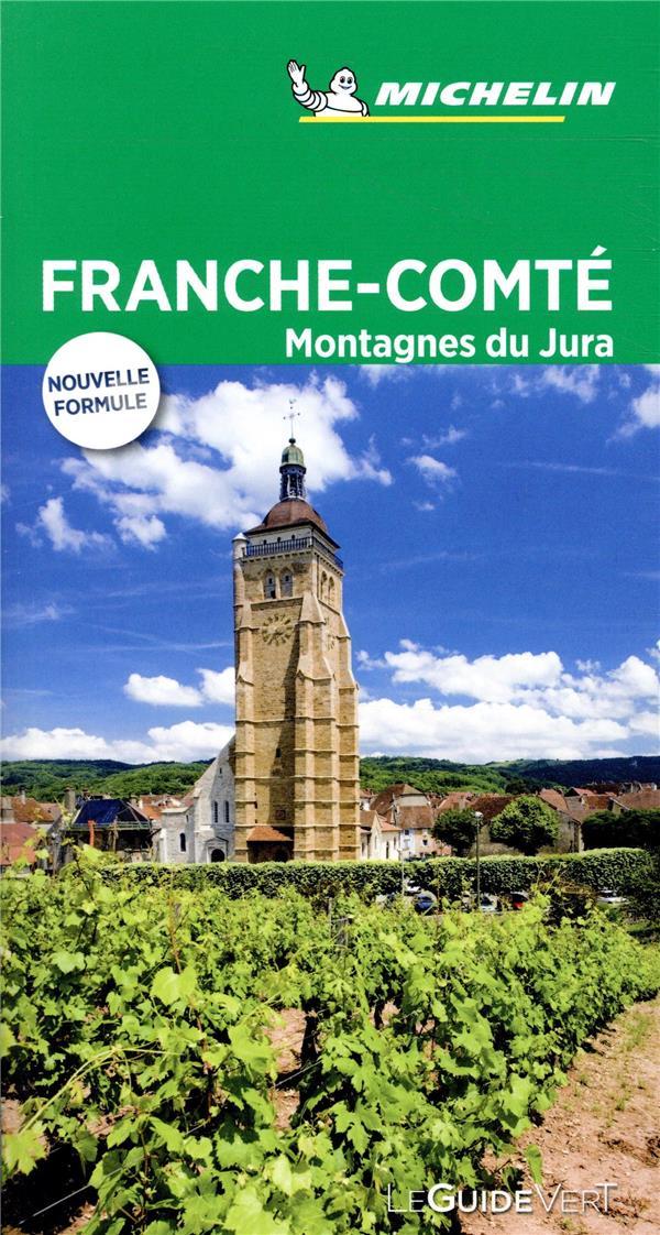 GUIDE VERT FRANCHE-COMTE JURA  MICHELIN