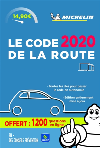CODE DE LA ROUTE 2020 XXX MICHELIN