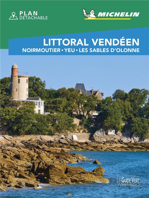 LITTORAL VENDEEN  -  NOIRMOUTIER, YEU, LES SABLES D'OLONNE (EDITION 2020) XXX MICHELIN