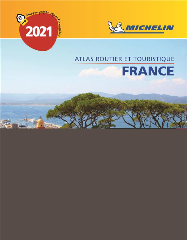 ATLAS ROUTIER FRANCE (EDITION 2021) COLLECTIF MICHELIN MICHELIN