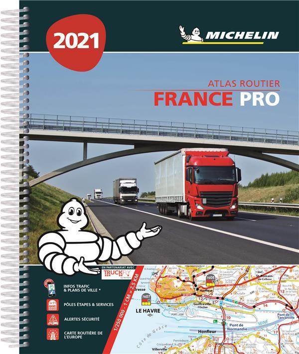 ATLAS FRANCE PRO (EDITION 2021) COLLECTIF MICHELIN MICHELIN