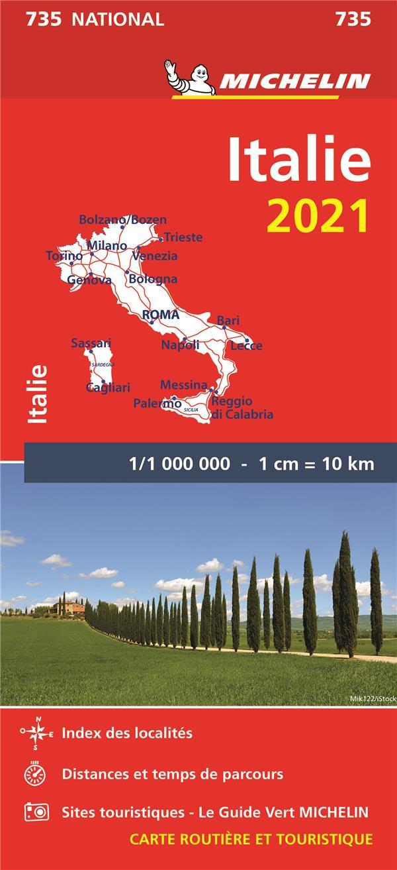 ITALIE (EDITION 2021) COLLECTIF MICHELIN MICHELIN