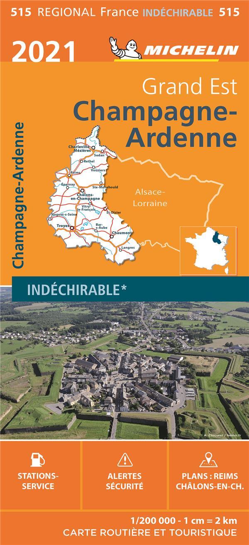 CHAMPAGNE-ARDENNE (EDITION 2021) COLLECTIF MICHELIN MICHELIN