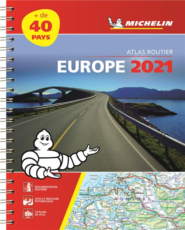 EUROPE (EDITION 2021) COLLECTIF MICHELIN MICHELIN