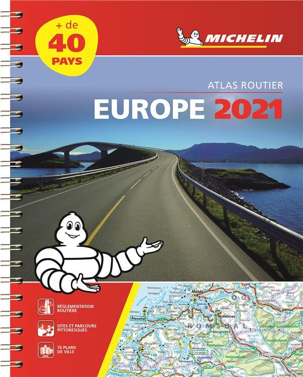 EUROPE (EDITION 2021) COLLECTIF MICHELIN MICHELIN