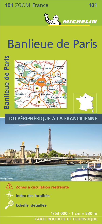 BANLIEUE DE PARIS XXX MICHELIN