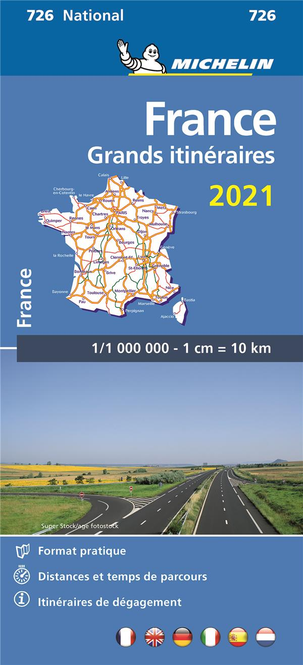 FRANCE  -  GRANDS ITINERAIRES (EDITION 2021)